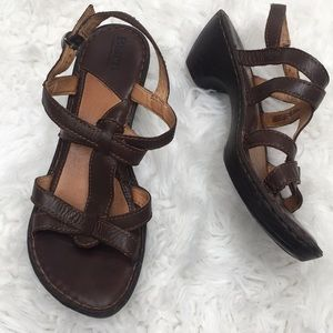 Born Brown Sandals with small heel